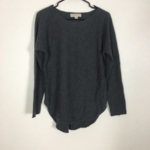 Michael Kors Grey 100% Cashmere Sweater